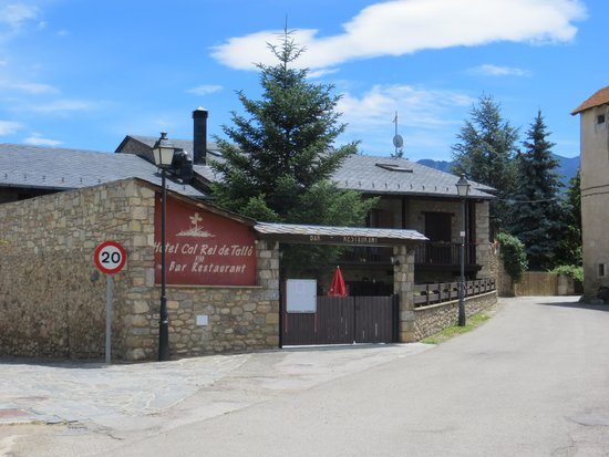 Hotel Cal Rei de Tallo : Hotel