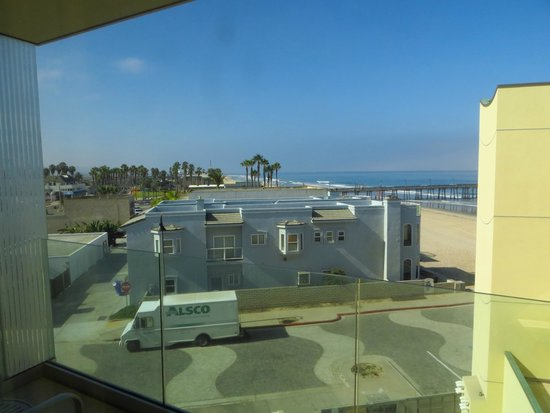 Pier South Resort, Autograph Collection: View from non-ocean view room - still can see the sea