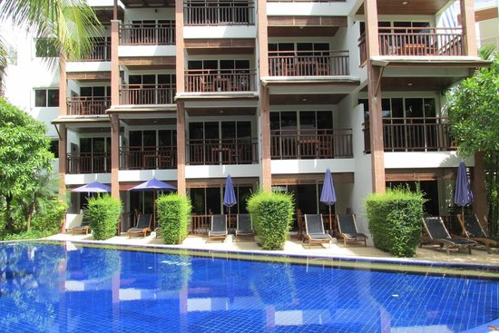 Sunwing Bangtao Beach : Rooms overlooking the Garden Pool