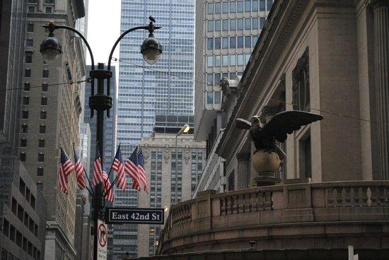 corner near Grand Central Terminal