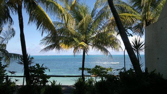 Hotel Dos Playas Beach House: вид с номера