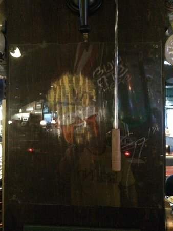 """Tampa Bay Brewing Company: Guy Fieri leaves his """"mark"""" after visiting a restaurant"""
