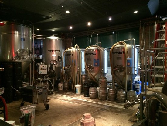 Tampa Bay Brewing Company: Onsite brewery