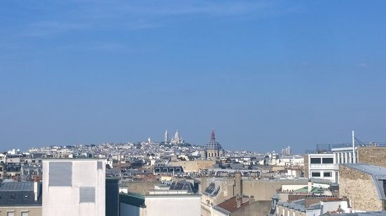 Paris Marriott Champs Elysees Hotel: View of Montmartre from our room