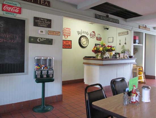 Rylan's Restaurant: Interior
