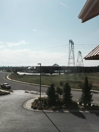 Holiday Inn Express Hotel & Suites Kalispell: View from room window