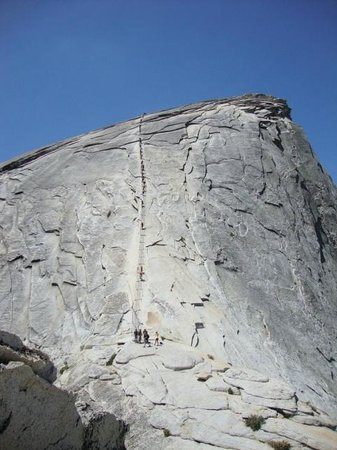 Just Roughin' It Adventure Company: Half Dome Cables