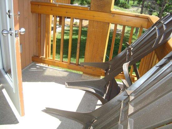 Hidden Ridge Resort : balcony