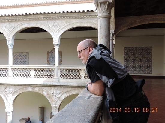 Museo de Santa Cruz: courtyard