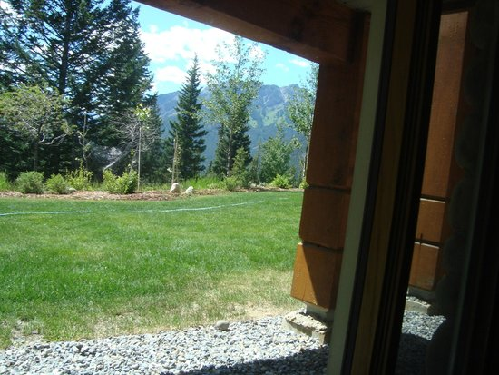 Hidden Ridge Resort : view from bedroom