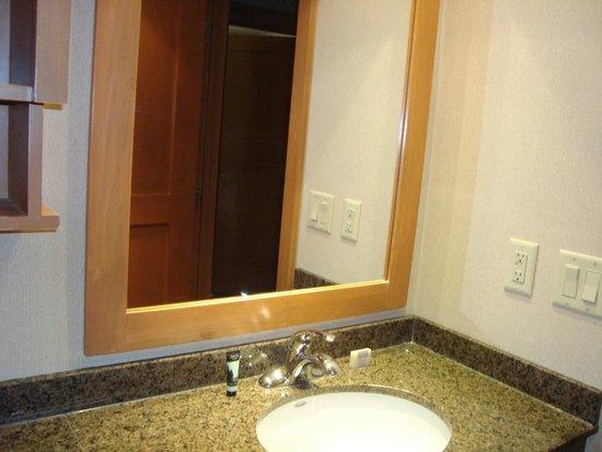 Hidden Ridge Resort : bathroom
