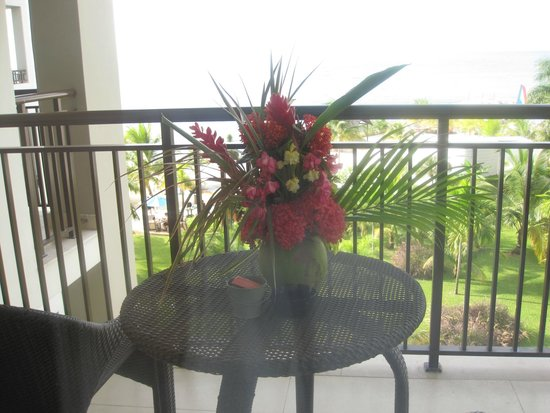 Secrets Wild Orchid Montego Bay: Flowers Ryan made for me