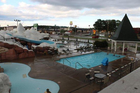 Outdoor Pool Foto Di Wintergreen Resort Conference Center Wisconsin Dells Tripadvisor