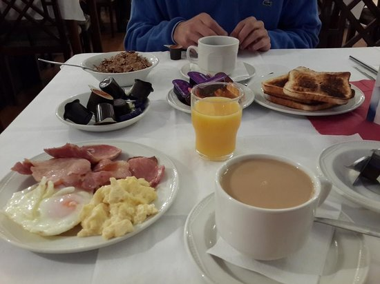 The County Hotel : Desayuno