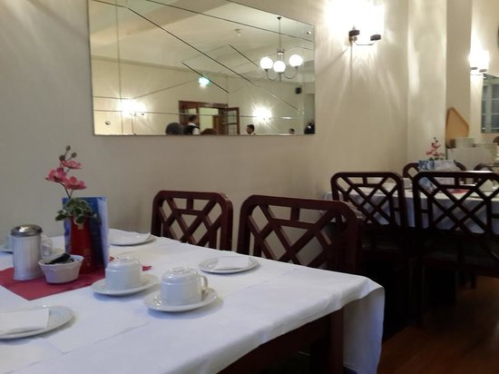 The County Hotel: Comedor