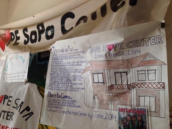 Sapa Backpackers: Hope Center Info