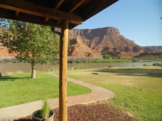 Sorrel River Ranch Resort and Spa: view from the room