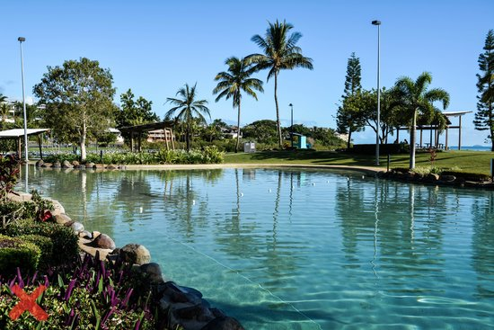 Base Backpackers Airlie Beach : lagoon