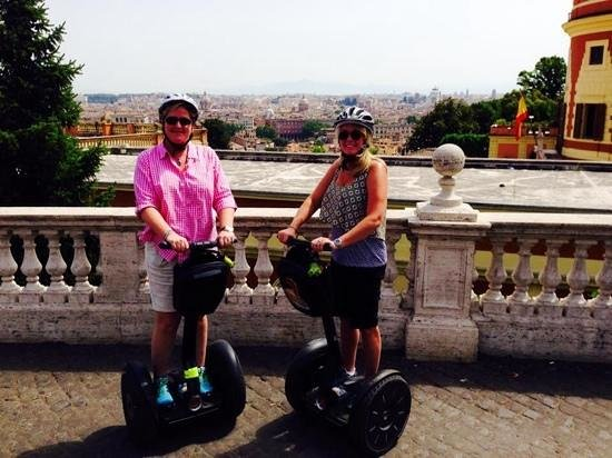 Rex-Tours The Rome Experience: Rex-Tours...Rome Segway view from above the city.