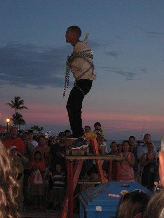 Mallory Square: Sunset Celebration performer
