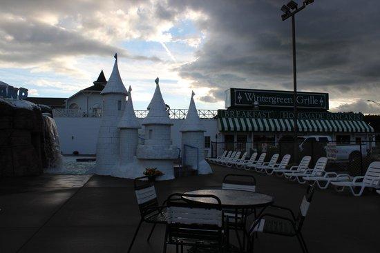 Wintergreen Resort & Conference Center: outdoor waterpark