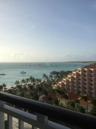 Hyatt Regency Aruba Resort and Casino: View from our Regency Club Balcony