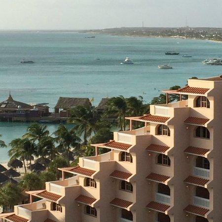 Hyatt Regency Aruba Resort and Casino: View from 9th floor balcony