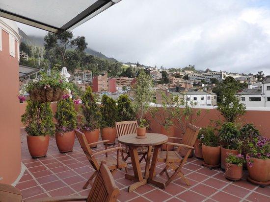 Hotel Casa Deco : Roof garden