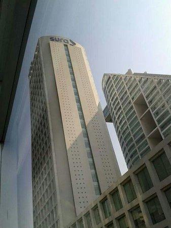 City Express EBC Reforma: La vista desde el cuarto, reforma 222 al cruzar la calle