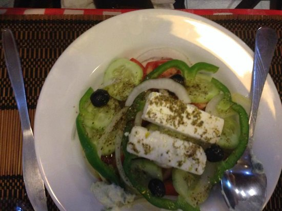 Greek Garden Taverna Pattayanis : Greek Salad