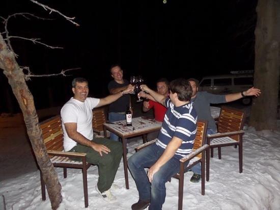 Hotel Posada de Farellones: Neve