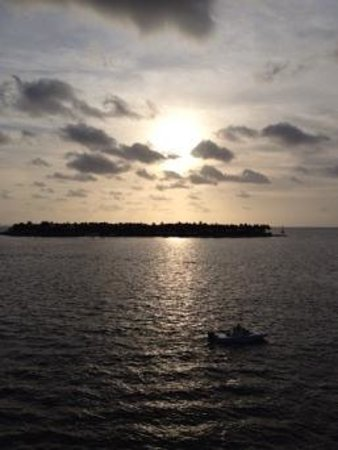 sunset from mallory square!