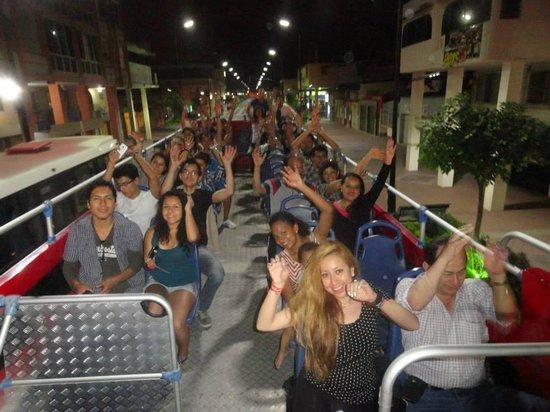 Machala, Ecuador: Bus Turístico de TripLife