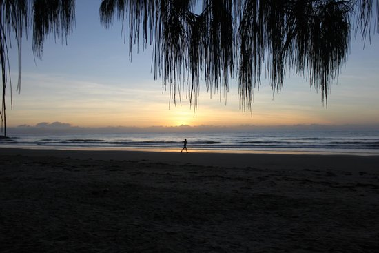 Reflections of Port Douglas: Sunrise over four mile beach