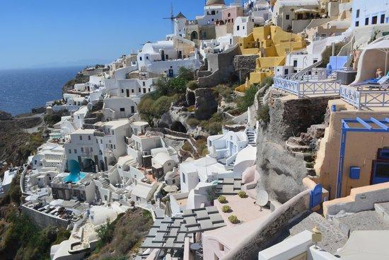 Art Maisons Luxury Santorini Hotels Aspaki & Oia Castle: balcony view