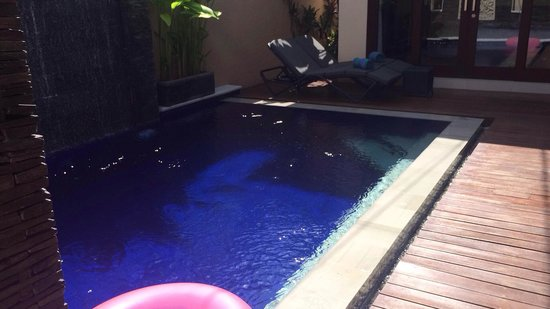My Villas in Bali : The skinnydipping pool haha!
