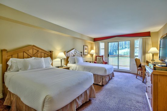 Sun Peaks Grand Hotel & Conference Centre: Deluxe Guest room with Balcony