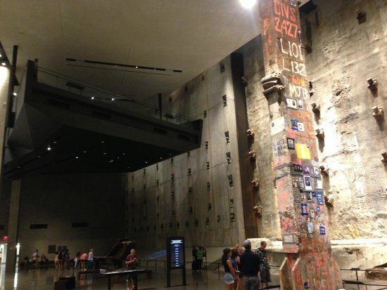 The National 9/11 Memorial & Museum: The original WTC slurry wall, and the final piece of steel removed from the site