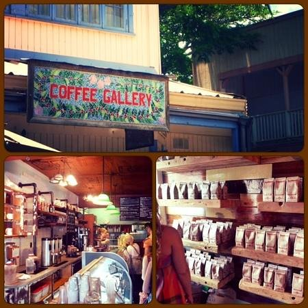 Coffee Gallery: great coffee and a nice place to hang out
