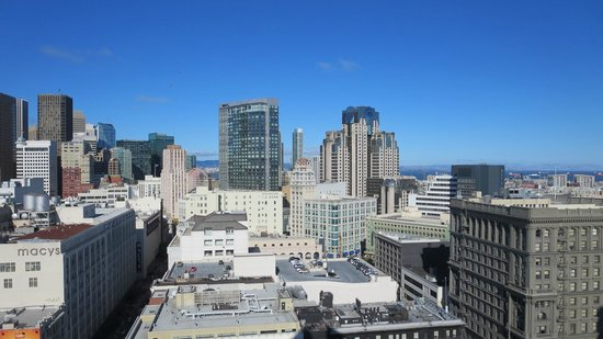 Hotel Nikko San Francisco: from our 19th floor window