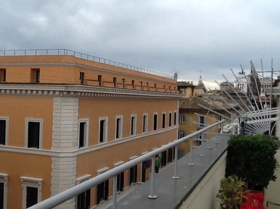 Hotel Regno: View from the balcony