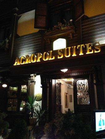 GLK PREMIER Acropol Suites & Spa: Front entrance (Best Western Premiere Acropol Suites)