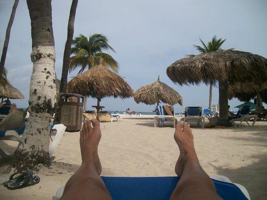 Iberostar Paraiso Beach: ZONA DE PLAYA