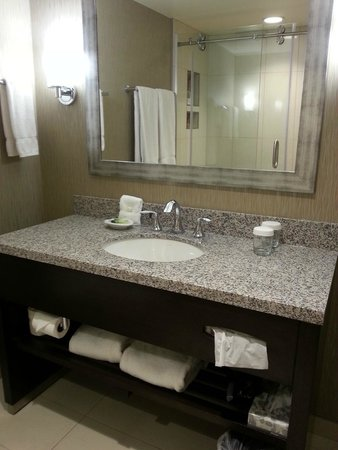 Madison Concourse Hotel and Governor's Club: Updated Bathroom