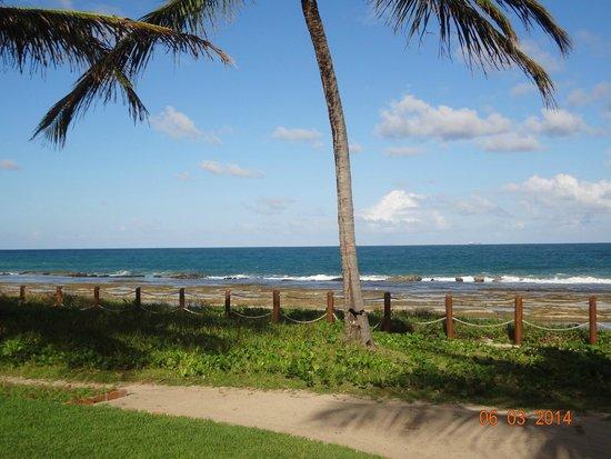 Marulhos Suítes Resort : Vista da praia