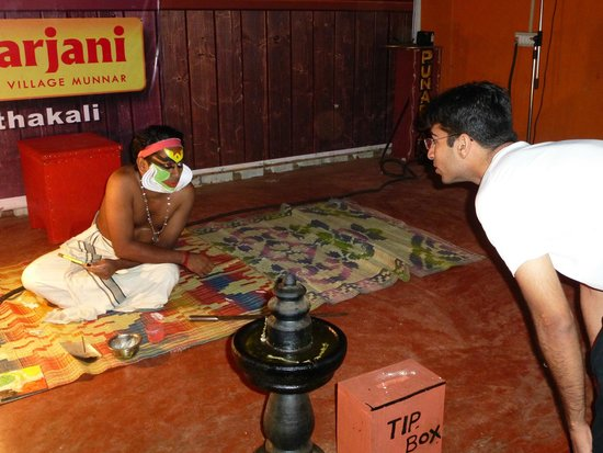 Punarjani Traditional Village: Interaction with the Kathakali Dancer