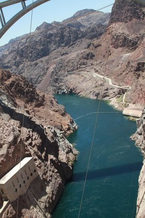 Hoover Dam: View from Welcome Center