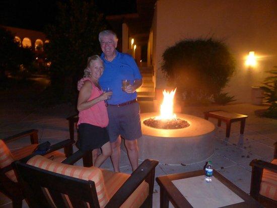 Omni Tucson National Resort: Fire pit