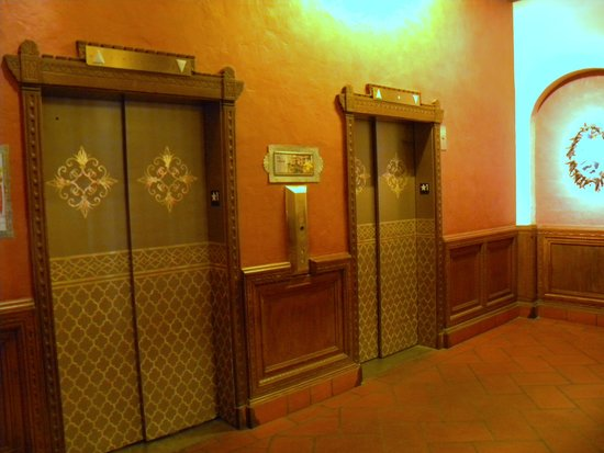 Hotel Andaluz: Unique Elevators