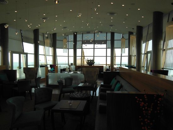 Radisson Blu Hotel, Kuwait: Business class lounge interior.